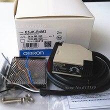 E3JK R4M2 Omron ใหม่ Photoelectric Switch Sensor ระยะทาง 4 เมตรปรับ AC/DC 5 สายแผ่นสะท้อนแสง