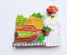 German Black Forest Farm Open Air Museum Refrigerator
