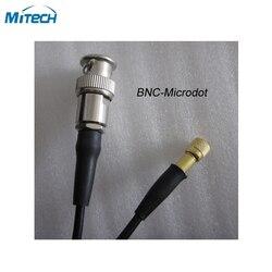 Złącze BNC Microdot kabel do wykrywania defektów (L5-Q9)