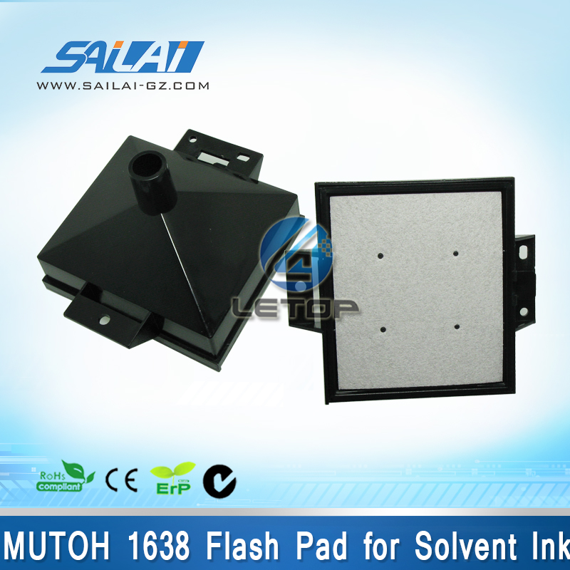 MUTOH 1638 flash pad for Solvent Ink high quality mutoh vj 1638 spray flash pads for mutoh eco solvent printer