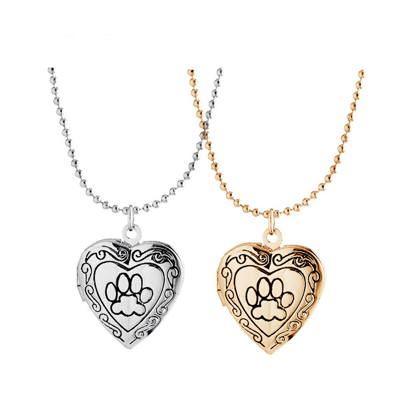 MMC Heart Valentines Memories Floating Box Silver Pendants Necklaces
