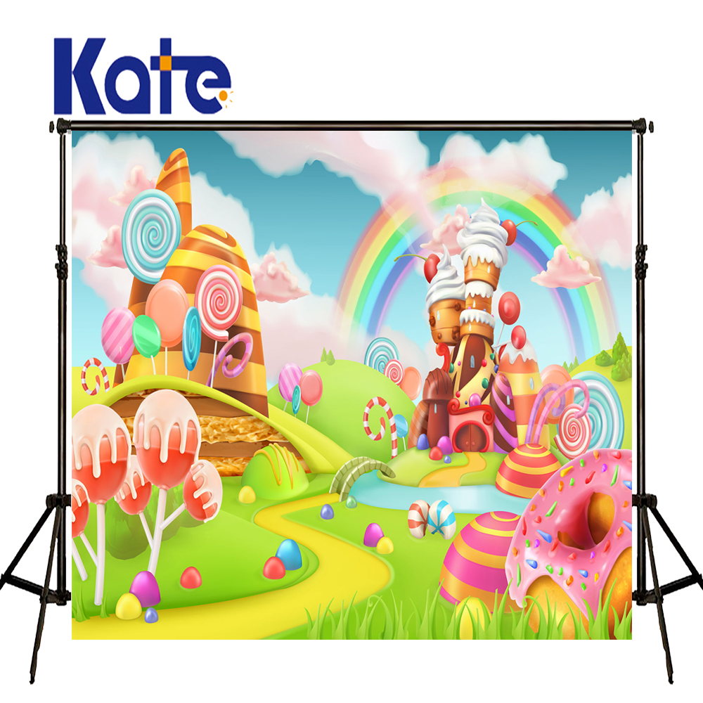 KATE Photography Backdrops 10x10ft Background Cartoon Forest Background Newborn Tapestry Fairy Tale Forest for Photo Studio 2016 new arrival fairy tale photography backdrops grass photo background for newborn photo xt 4184