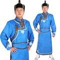 Otras Prendas de Vestir Masculino vistió mongolia mongolia piel de venado de lana ropa traje masculino chino minoría ropa de piel de venado