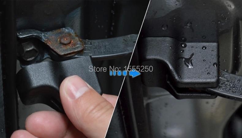 Двери Авто проверяет защитную крышку, доказательство воды протектор для Skoda superb, octavia, быстрый, fabia, йети, 4 шт./лот