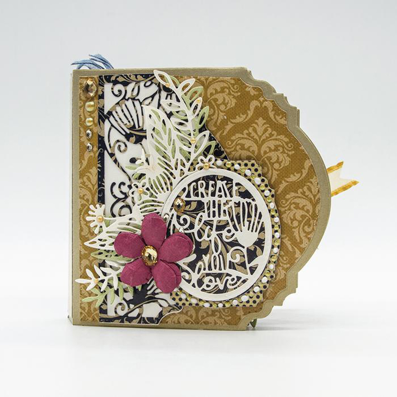 Image 5 - Julyarts New Die for 2019 Lace Flower Metal Cutting Dies Stencil Scrapbooking dies metal nouveau arrivage Handmaking paper craft-in Cutting Dies from Home & Garden