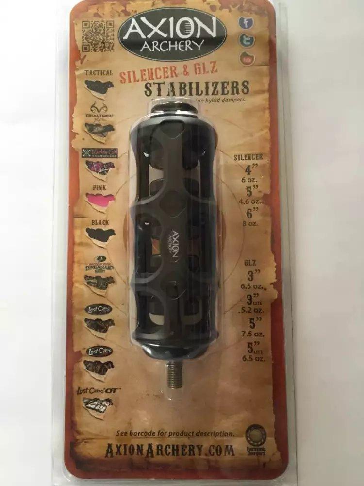 Free shipping Axion SSG Silencer Stabilizer - 4 6oz black