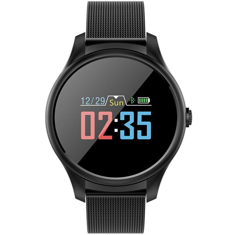 Montre intelligente de mode IP67 étanche Bluetooth Tracker de Fitness hommes femmes Smartwatch pour IOS Android téléphone Sport bracelet horloge