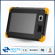 Hot 8 Inch NFC Fingerprint Optional Industrial IP67 Biometric Touch Screen Rugged Tablet Android 6.0 HCC-Z200