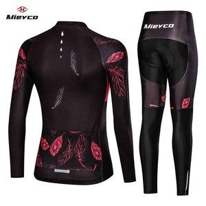 Image 2 - Vrouwen Wielertrui Mtb Fiets Kleren Vrouwelijke Ciclismo Lange Mouwen Racefiets Kleding Riding Shirt Team Jersey Custom Design