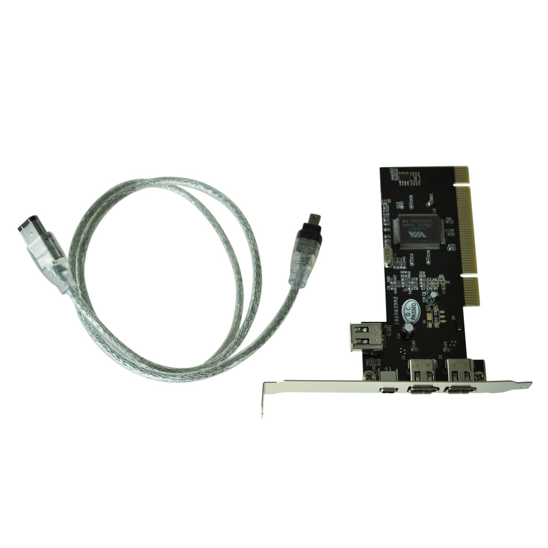 Brand New Hot Pci Firewire Ieee 3 1 Port Card 4 6