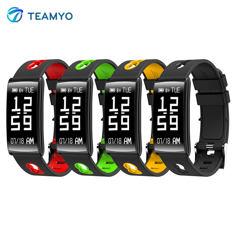 Teamyo New HM68 Smart Band Blood pressure heart rate monitor Fitness Tracker Bracelet Smart watch waterproof IP68 Sport