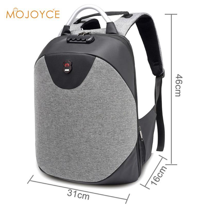 Casual USB Charging Anti-Theft Schoolbag Computer Backpacks Men Teenage Multifunction Fashion Male Travel Shoulder Rucksacks