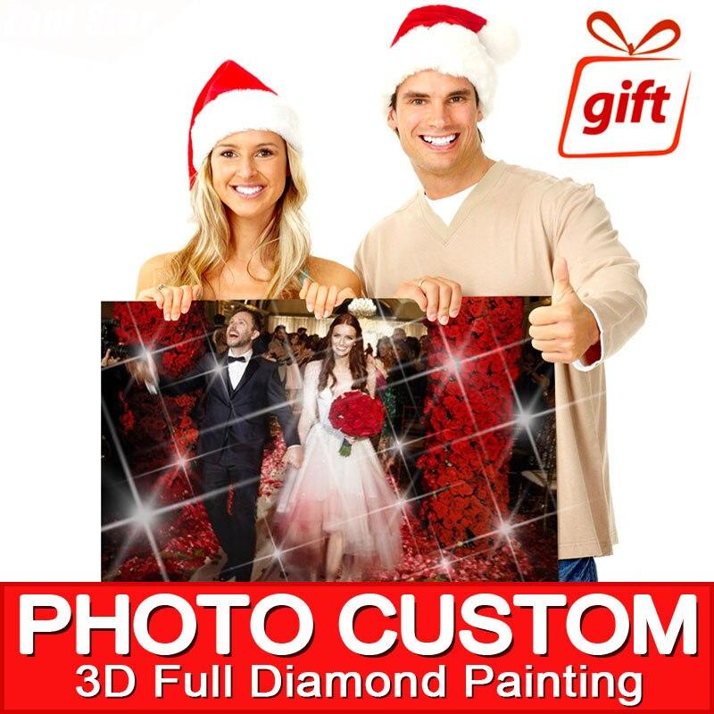 5D DIY Diamond Painting Private custom! Photo Custom! Make Your Own  3D Full Drill Rhinestone Embroidery