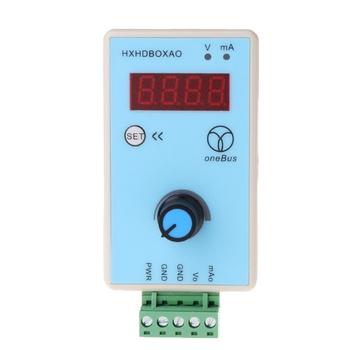 Ręczny regulowany prąd napięciowy symulator analogowy 0-10V 2-10V 0-20mA 4-20mA źródło sygnału Generator sygnału wyjściowego tanie i dobre opinie OOTDTY CN (pochodzenie) Elektryczne 2 9 Cali i Pod