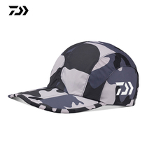 daiwa Caps Fishing hat Men Summer Camouflage Sun Protection Hat Sports Adjustabl