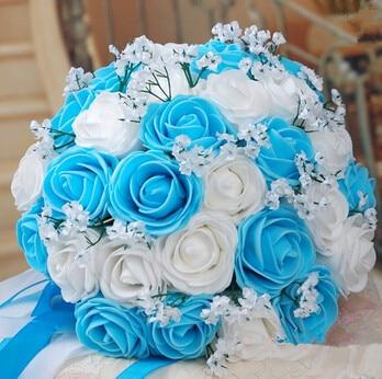 November Verkauf Bouquet Kostenloser Versand Hochwertiger Blau