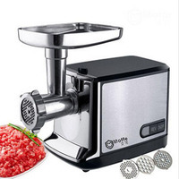 household meat grinder electric meat slicer cutter stainless steel automatic sausage filler vegetable mincer chopper machineF 85