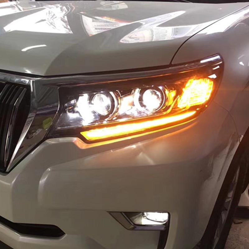 Fabricant pour phare de voiture pour Prado tout phare LED 2017 2018 pour phare de Prado avec clignotant mobile