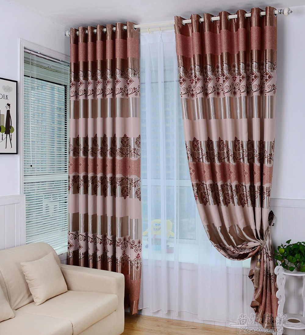 Curtains for bedroom 2016 - 2016 New Luxury Modern Printed Thick Blackout Curtains For Living Room The Bedroom Window Blinds Curtain