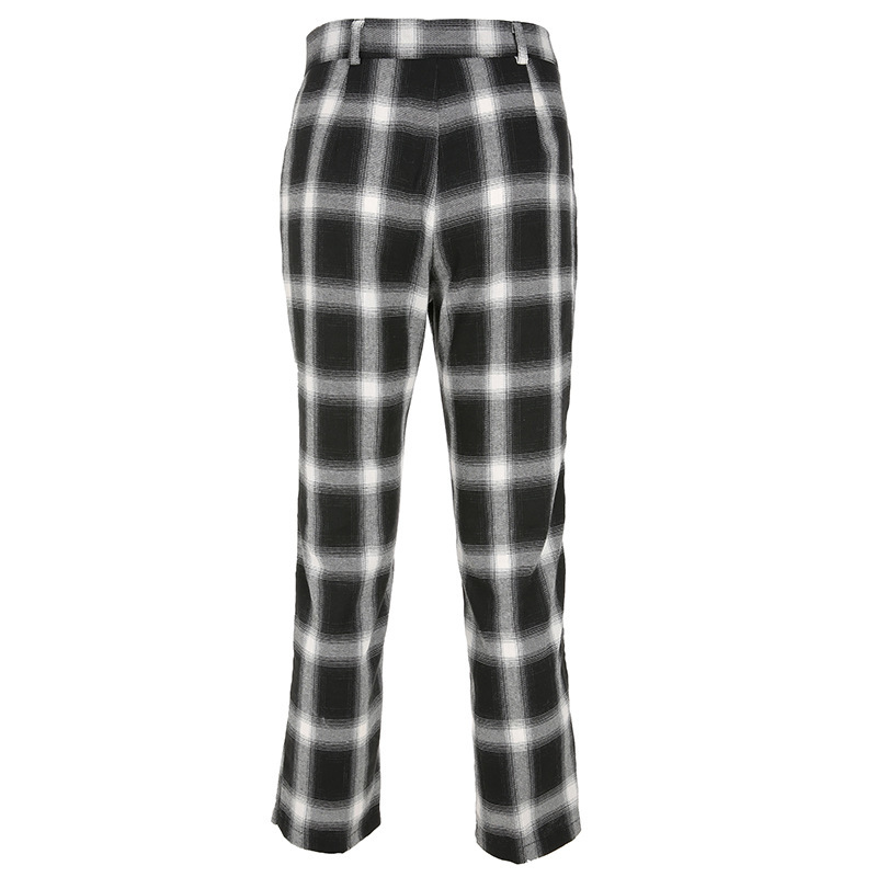 2019 Streetwear Cargo   Pants   Women Casual Joggers Black High Waist Loose Female Trousers Korean Style Ladies   Pants     Capri   L203