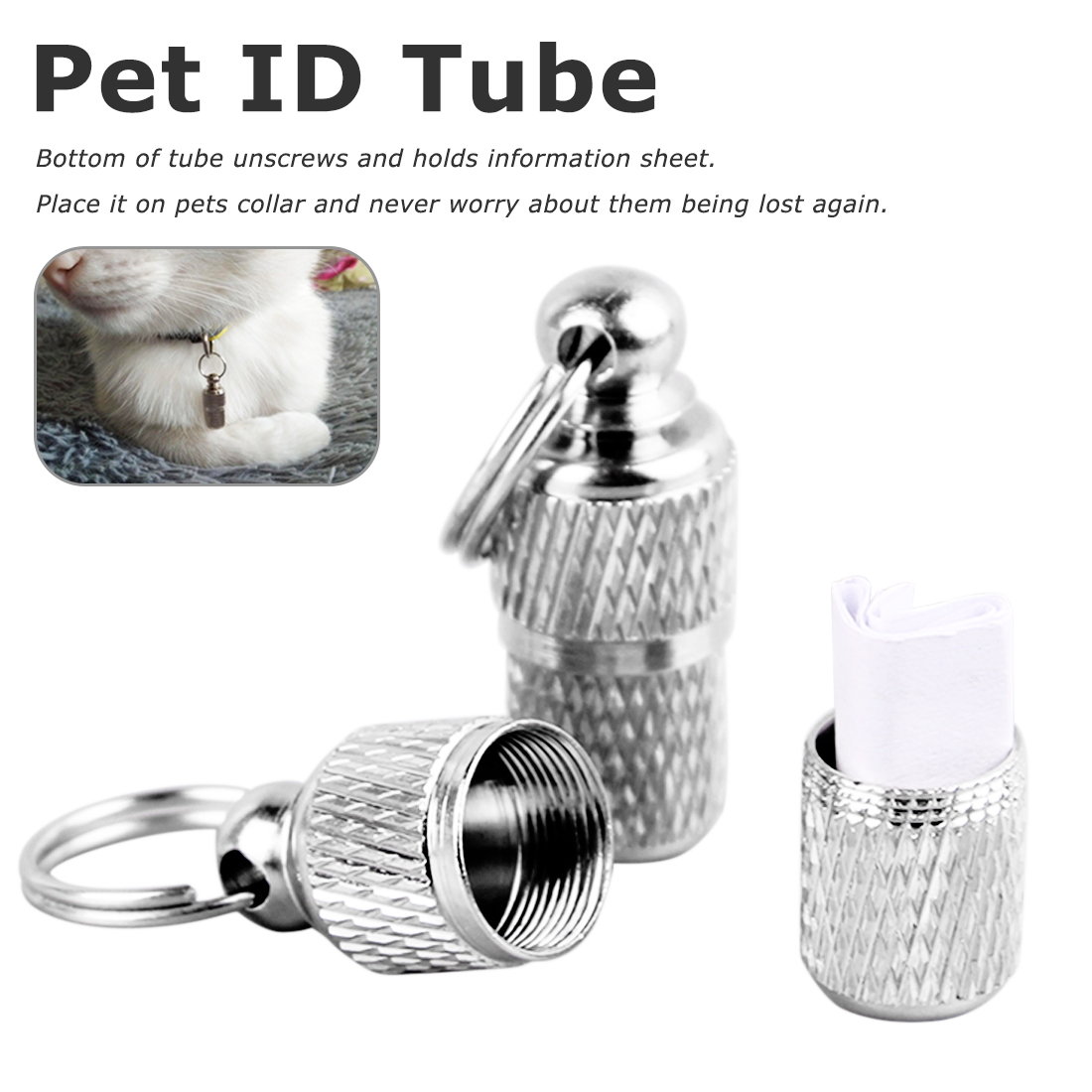 New Arrival Mignon Fashion Stainless Steel Pet Dog Cat