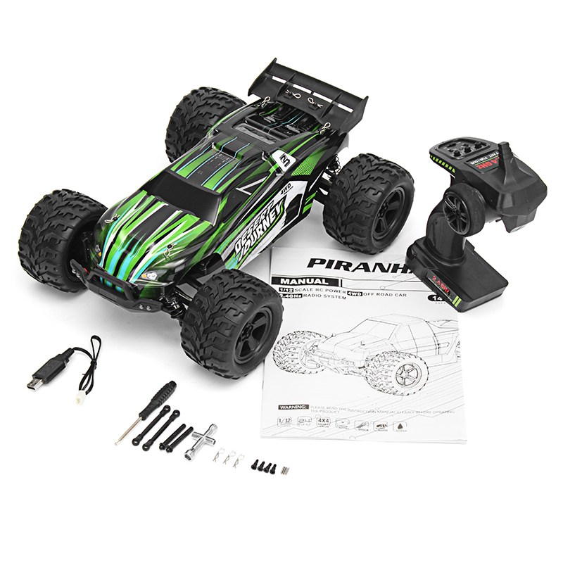 High Quality RC Car Pengxiang 9202 2.4G 1/12 Scale 4WD High Speed 40km/h Cross Country Semi Truck Models Toys цена