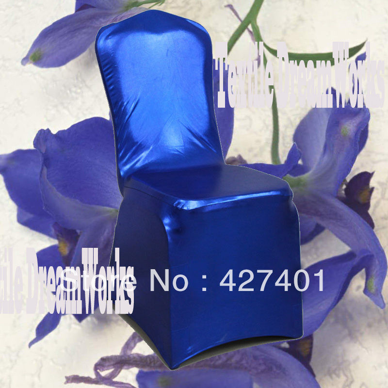 Phenomenal Us 382 08 Hot Sale Royal Blue Metallic Shiny Two Way Spandex Chair Cover Lycra Chair Cover Arch Front For Wedding Decoration In Chair Cover From Caraccident5 Cool Chair Designs And Ideas Caraccident5Info