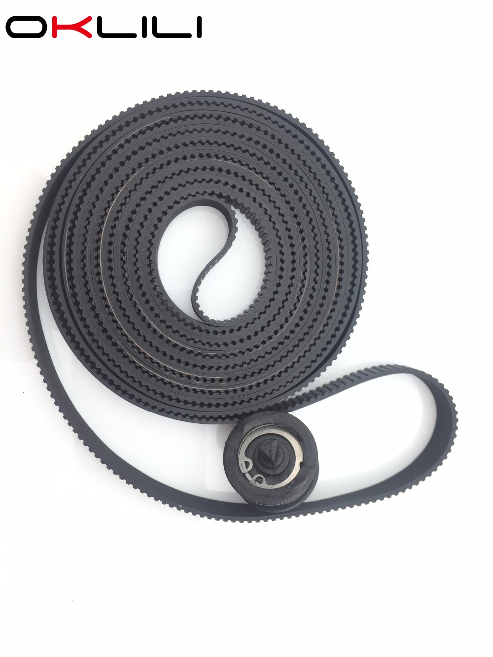 C7770-60014 Carriage Belt 42 B0 Size with Pulley for HP DesignJet 500 500PS 800 800PS 510 510PS 815 CC800PS 820 815MFP 820MFP free shipping original new c7770 60274 carriage assembly trailing cable kit b0 for hp500 500ps 800 800ps 815 820