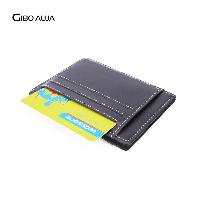 Gibo Auja - helt ny äkta läder plånbok super slim kort innehavare - Plånböcker - Foto 4