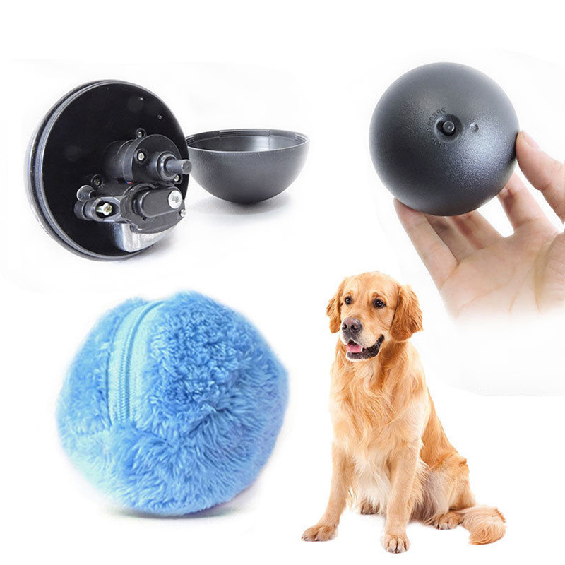 Pet Supplies New Popular Toys  Ball For Dogs Cats Practical Magic Roller Ball Toy Automatic Roller Ball  Nontoxic Safe