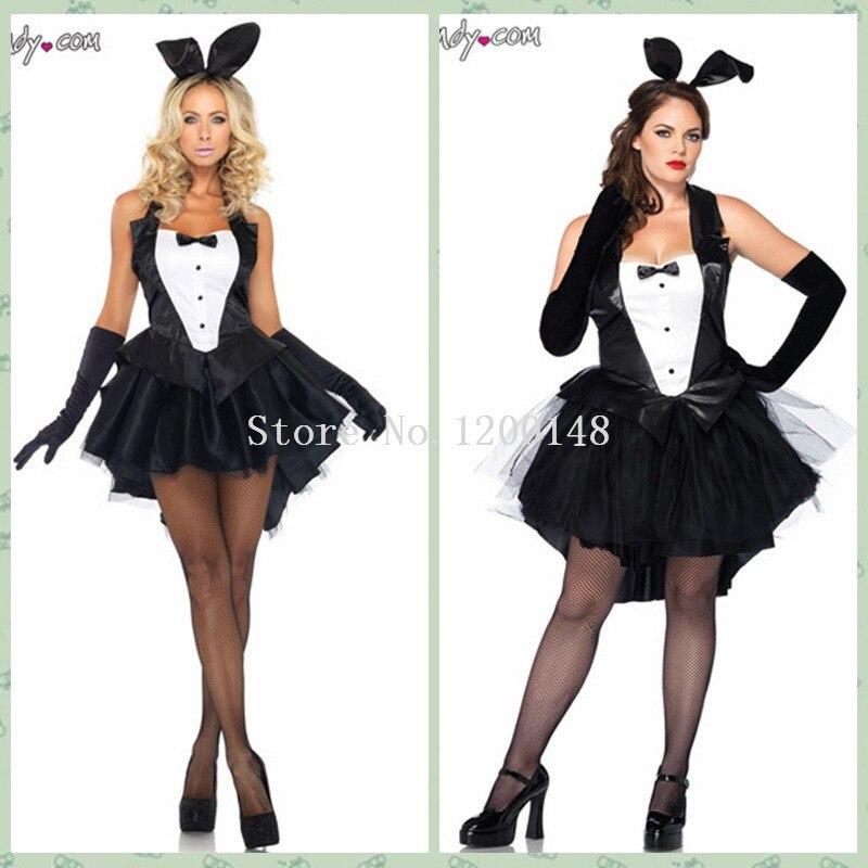 Эротичный костюм с ушками зайчика купить фото 245-723