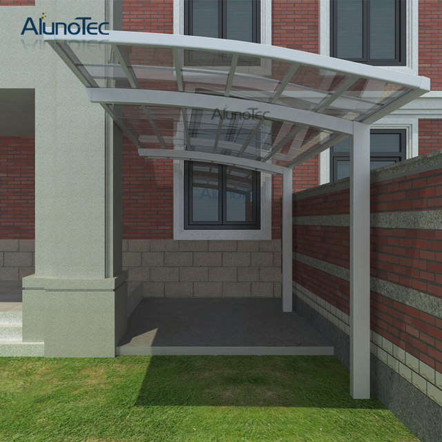 Außen Aluminium Carport Auto Shelter Car Dach Mit Polycarbonat dach ...