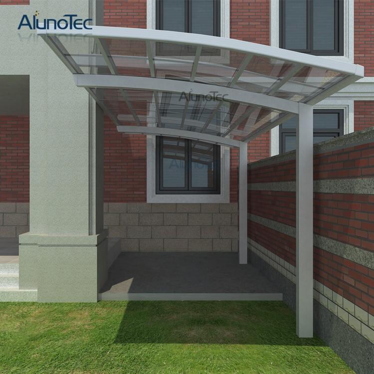 outdoor aluminum carport car shelter car roof with polycarbonate roof 6m length x 3m width x 3m. Black Bedroom Furniture Sets. Home Design Ideas