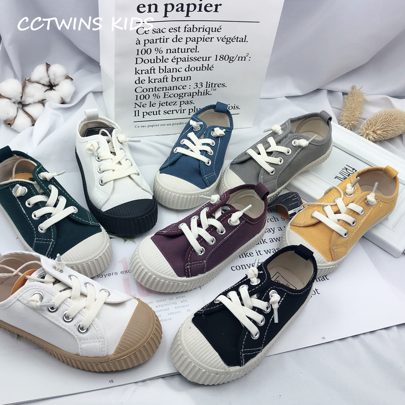 CCTWINS Kids Shoes 2019 Autumn Girls Canvas White Sport Sneakers Boys Casual Black Shoe Children Fashion Non-Slip Trainer FC2566CCTWINS Kids Shoes 2019 Autumn Girls Canvas White Sport Sneakers Boys Casual Black Shoe Children Fashion Non-Slip Trainer FC2566