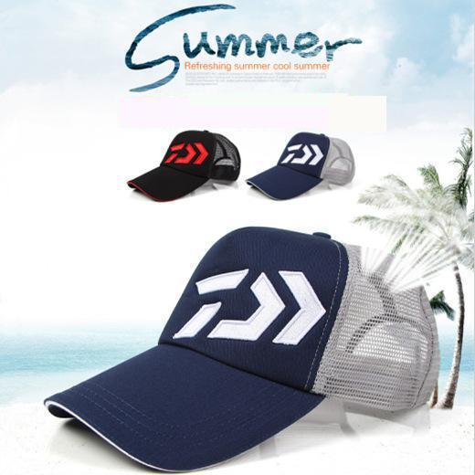 2017 New Adult Men Adjustable Fishing Korea Sunshade Sport Baseball Fishing Hat fishing Cap Black Special Bucket Hat