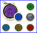 52mm 2inch LCD 7 Color Digital Oil Pressure Gauge Smoke Lens With Sensor 150psi/AUTO GAUGE