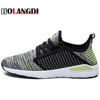 Bolangdi New Running Shoes For Men Outdoor Breathable Male Mesh Light Shoes Jogging Sneakers Athletics Women