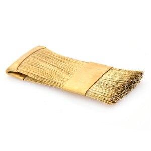 Image 3 - 1Pc électrique manucure forets nettoyage brosse nettoyant clou foret outil propre fil de cuivre perceuse brosse dentaire foret