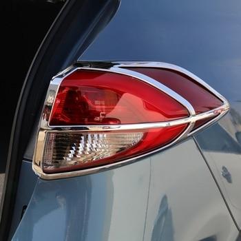 Fit Voor Hyundai Tucson 2016 2017 Exterieur ABS Chrome Achterlicht Lamp Cover Versieringen Achterlicht Cover Protector 4 Stks Auto accessoires