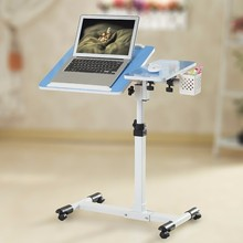 BSDT Ya Qi resistant notebook desk 360 degrees rotation lazy bedside lifting comter table FREE SHIPPING