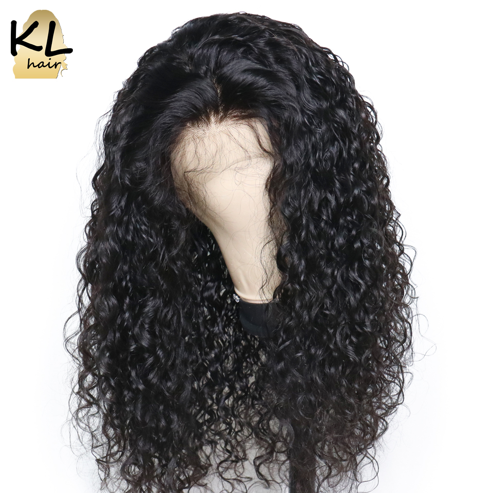Lace Front Human Hair Wigs With Baby Hair Pre Plucked Curly Brazilian Remy Hair Lace Wigs