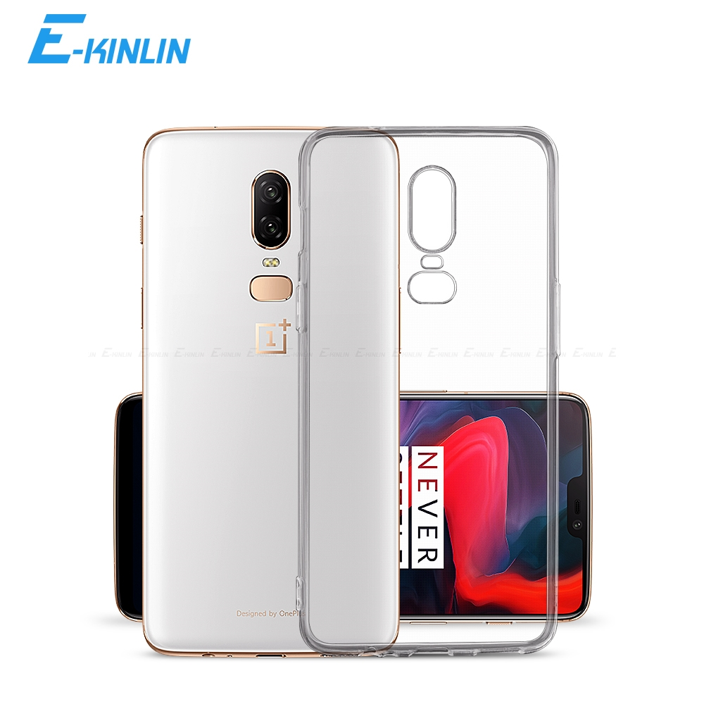Crystal Clear Soft Silicone Transparent TPU Case Cover For One Plus <font><b>OnePlus</b></font> 7 7T Pro 5G 6T 6 5T <font><b>5</b></font> 3T 3 T A6010 A6000 A5010 <font><b>A5000</b></font> image