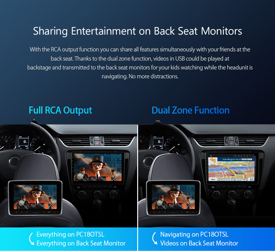 """Cheap 10.1"""" Android 8.1 OS Car Multimedia Navigation GPS Radio for Skoda Octavia 2014 2015 2016 with Split Screen Function Support 11"""