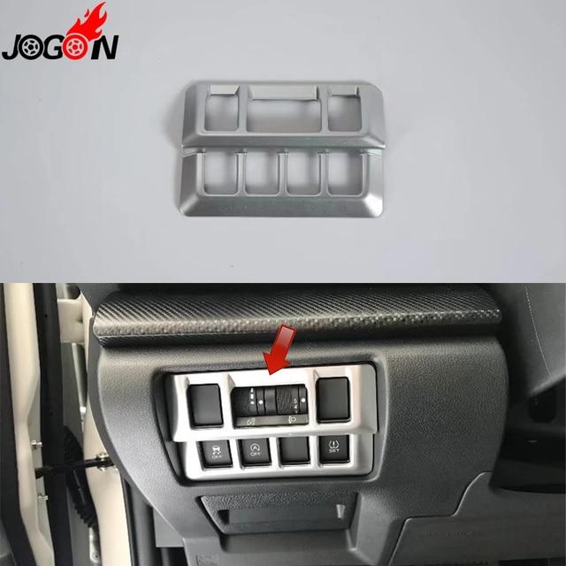 1 stksset voor subaru xv 2018 2019 hatchback auto interieur koplamp hoofd fog lamp