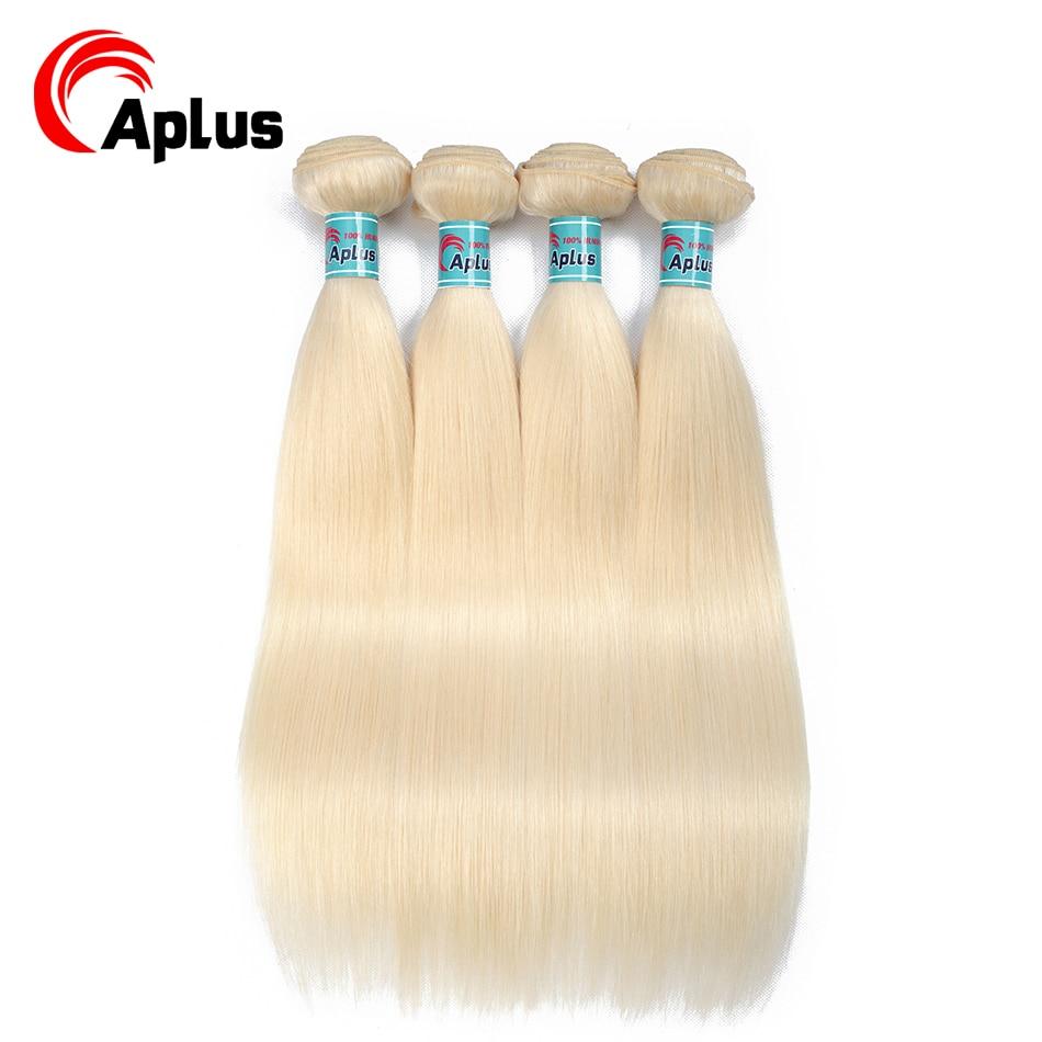 And Children Modest Malaysian Human Hair Bundles 4 Bundles 613 Color Straight Hair Bundles Deals Platinum Blonde Bundles 10-24 Inches Aplus Non-remy Suitable For Men Women