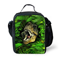 FORUDESIGNS 2016 Large Size Picnic Food Bag for Men Kids Cooler Insulation Lunch Bag 3D Animal Print Thermal Lancheira Lunchbags