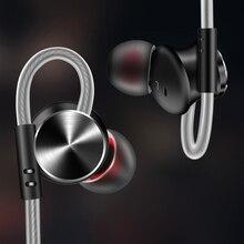 Fonge W3 Metalen Magnetische In Oor Eeaphone Stereo Super Bass Oortelefoon Met Microfoon Voor Smartphone Muziek