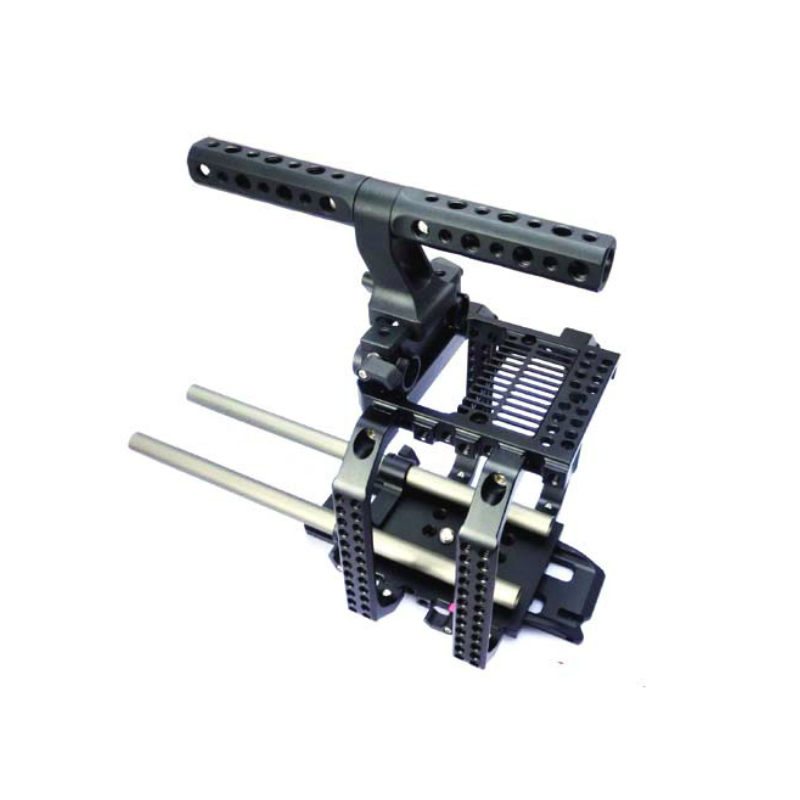 For RED SCARLET EPIC 15mm rail camera support system Hooton Camera Rig Kit Cage Baseplate Top handle handgrip jtz dp30 camera baseplate shoulder support rig 15mm rod kit for sony fs5 pxw fs5