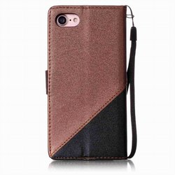 Simple Business Phone Bags sFor apple iPhone X XS For Case iPhone 6 6S 7 8 Plus Hit Color Book Cover PU Leather Flip Fundas E09Z 5