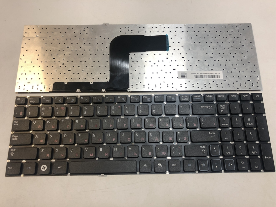 NEW Samsung NP-RC510 NP-RC520 LAPTOP Replacement US English Keyboard no-frame